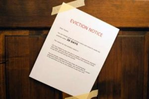 Rights and duties behind an eviction