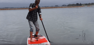 How to SUP Paddle into The Wind: Paddling Technique