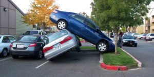 Three Reasons Parking Lot Accidents Occur