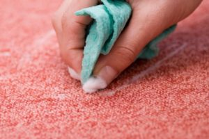 Easy carpet cleaning at home